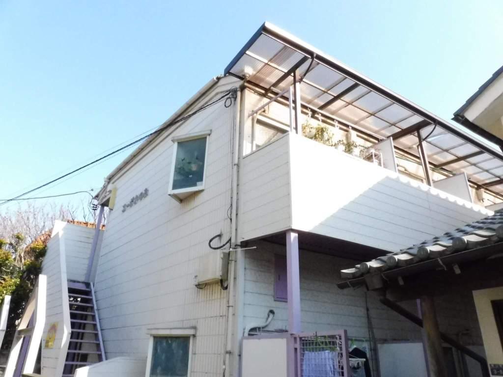 東京都板橋区、ときわ台駅徒歩12分の築31年 2階建の賃貸アパート