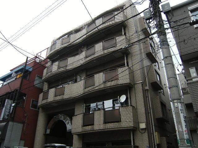 東京都板橋区、大山駅徒歩16分の築28年 5階建の賃貸マンション