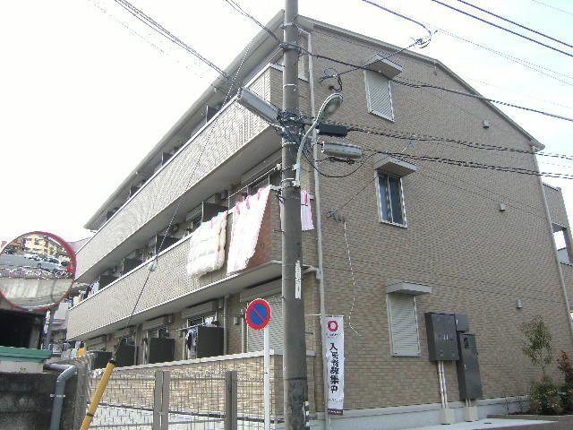 東京都板橋区、上板橋駅徒歩8分の築7年 3階建の賃貸アパート