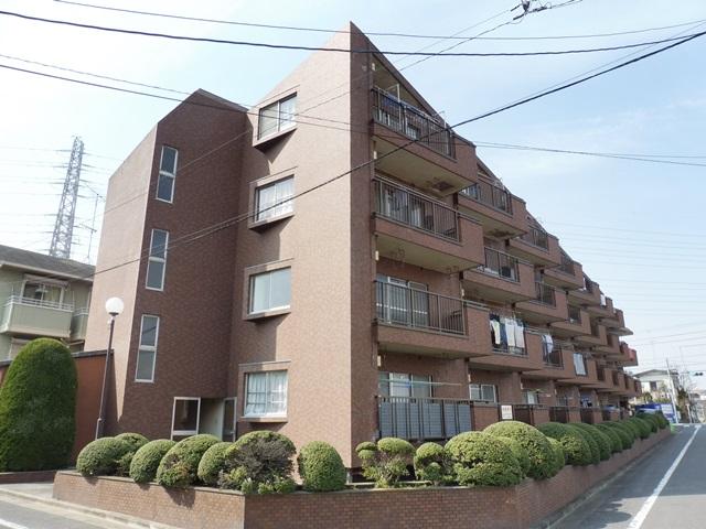 東京都板橋区、東武練馬駅徒歩12分の築31年 4階建の賃貸マンション
