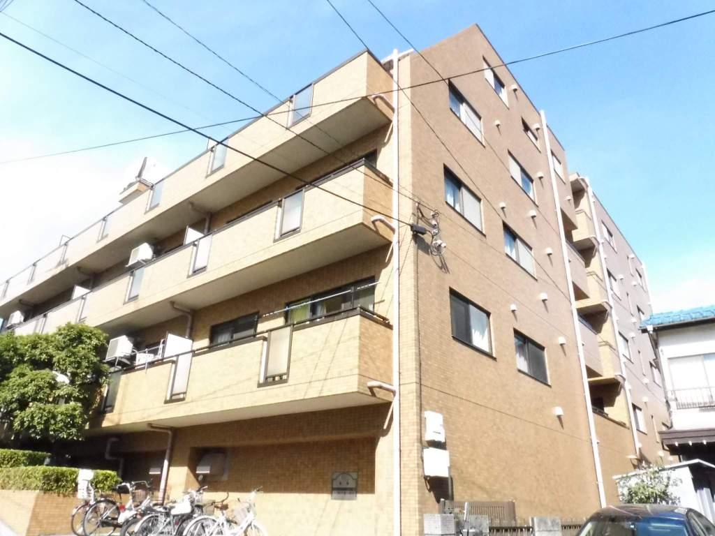 東京都板橋区、東武練馬駅徒歩15分の築23年 4階建の賃貸マンション