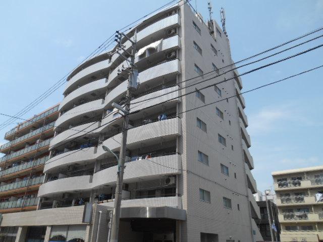 東京都板橋区、高島平駅徒歩2分の築25年 8階建の賃貸マンション
