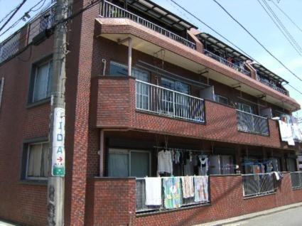 東京都練馬区、上板橋駅徒歩12分の築35年 3階建の賃貸マンション