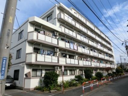埼玉県朝霞市、朝霞駅徒歩20分の築22年 6階建の賃貸マンション
