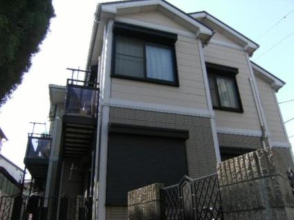 東京都板橋区、ときわ台駅徒歩18分の築20年 2階建の賃貸アパート