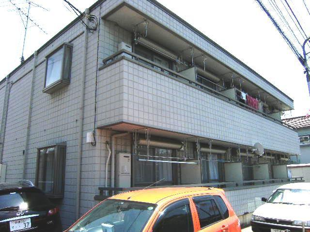 東京都練馬区、上板橋駅徒歩10分の築24年 2階建の賃貸マンション