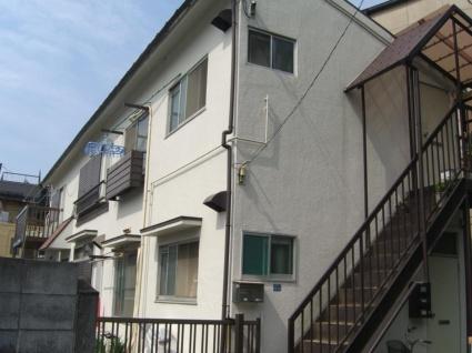 東京都板橋区、上板橋駅徒歩9分の築35年 2階建の賃貸アパート