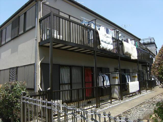 東京都練馬区、上板橋駅徒歩10分の築17年 2階建の賃貸アパート