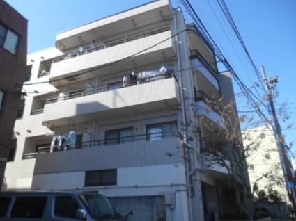 東京都板橋区、東武練馬駅徒歩13分の築27年 4階建の賃貸マンション