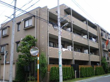 東京都板橋区、中板橋駅徒歩18分の築15年 4階建の賃貸マンション