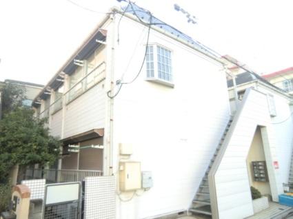 東京都板橋区、中板橋駅徒歩18分の築31年 2階建の賃貸アパート