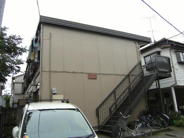 東京都板橋区、ときわ台駅徒歩5分の築40年 2階建の賃貸アパート