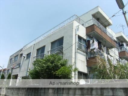 東京都板橋区、中板橋駅徒歩12分の築33年 3階建の賃貸マンション