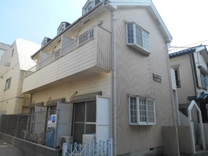 東京都板橋区、上板橋駅徒歩3分の築23年 2階建の賃貸アパート