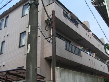 東京都板橋区、ときわ台駅徒歩15分の築17年 3階建の賃貸マンション