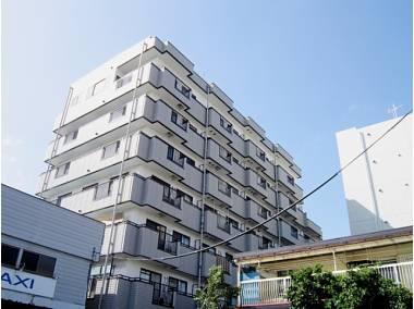 東京都練馬区、東武練馬駅徒歩5分の築22年 7階建の賃貸マンション