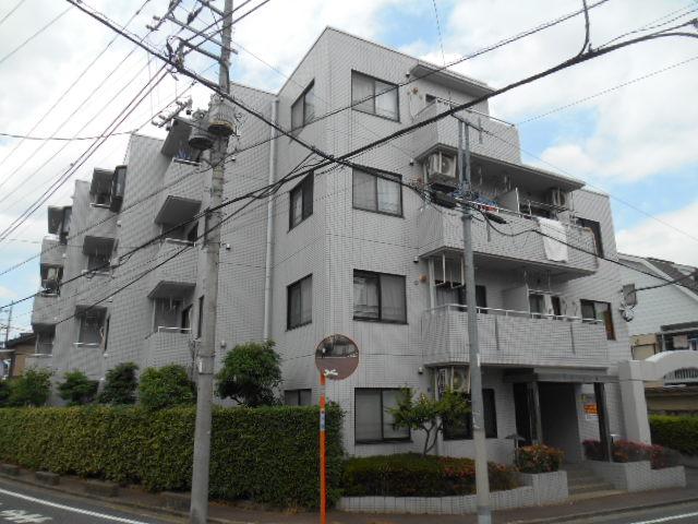 東京都板橋区、成増駅徒歩12分の築25年 4階建の賃貸マンション