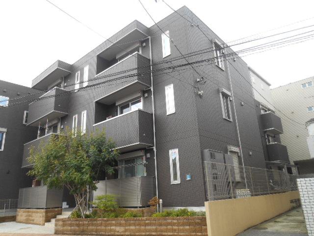 東京都板橋区、大山駅徒歩9分の築2年 3階建の賃貸アパート