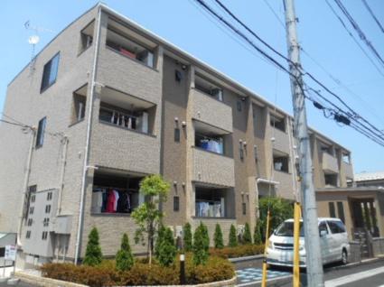 東京都板橋区、ときわ台駅徒歩11分の築1年 3階建の賃貸アパート