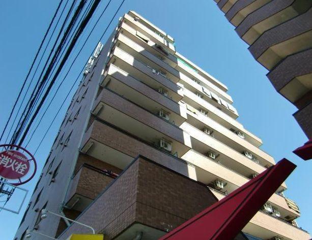 東京都板橋区、東武練馬駅徒歩17分の築18年 9階建の賃貸マンション