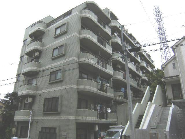 東京都板橋区、東武練馬駅徒歩7分の築26年 7階建の賃貸マンション