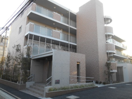 東京都板橋区、ときわ台駅徒歩13分の新築 4階建の賃貸マンション