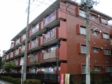 東京都板橋区、中板橋駅徒歩16分の築36年 4階建の賃貸マンション