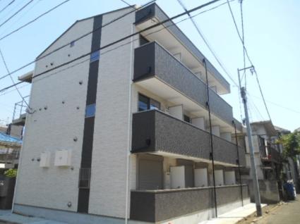 東京都板橋区、大山駅徒歩13分の新築 3階建の賃貸アパート