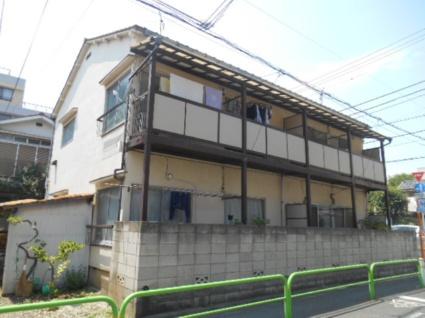 東京都板橋区、中板橋駅徒歩19分の築43年 2階建の賃貸アパート