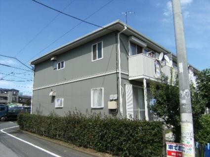 東京都板橋区、ときわ台駅徒歩15分の築24年 2階建の賃貸アパート
