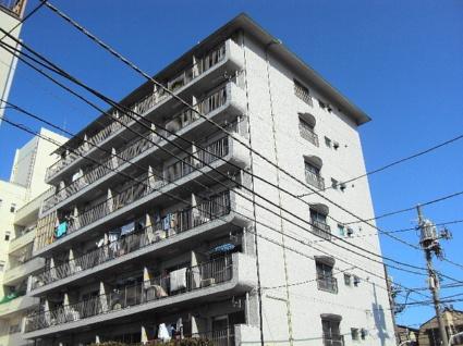 東京都板橋区、ときわ台駅徒歩8分の築45年 7階建の賃貸マンション