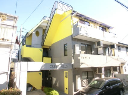 東京都板橋区、ときわ台駅徒歩13分の築22年 3階建の賃貸マンション