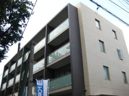 東京都板橋区、中板橋駅徒歩7分の築5年 4階建の賃貸マンション