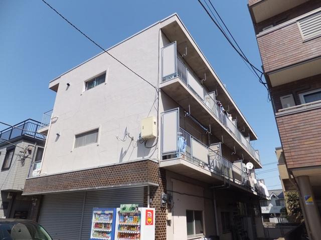 東京都板橋区、ときわ台駅徒歩16分の築46年 3階建の賃貸マンション