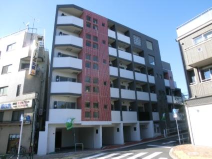 東京都板橋区、中板橋駅徒歩13分の築4年 6階建の賃貸マンション