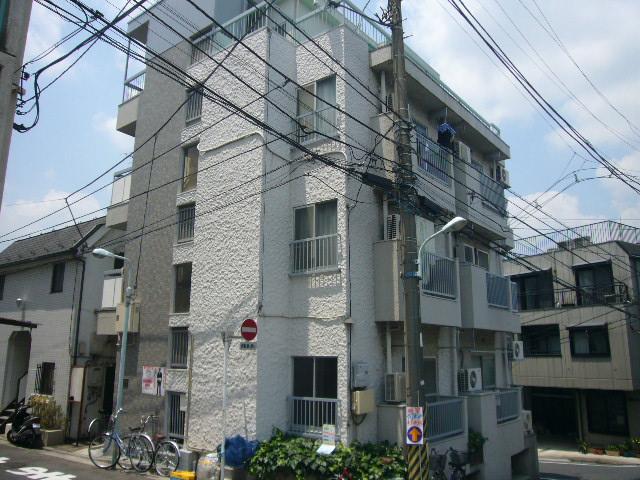 東京都板橋区、上板橋駅徒歩9分の築43年 4階建の賃貸マンション