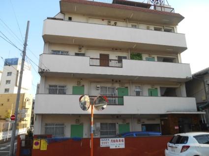 東京都板橋区、中板橋駅徒歩4分の築38年 4階建の賃貸マンション