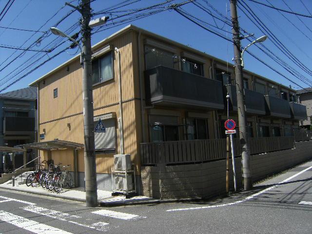 東京都板橋区、上板橋駅徒歩10分の築8年 2階建の賃貸アパート