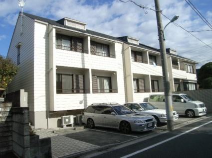 東京都板橋区、ときわ台駅徒歩5分の築26年 2階建の賃貸アパート
