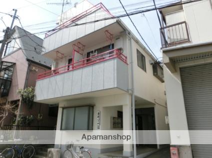 東京都板橋区、上板橋駅徒歩11分の築34年 3階建の賃貸アパート