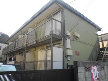 東京都板橋区、中板橋駅徒歩11分の築32年 2階建の賃貸アパート