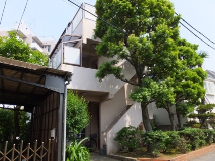 東京都板橋区、中板橋駅徒歩17分の築40年 3階建の賃貸マンション