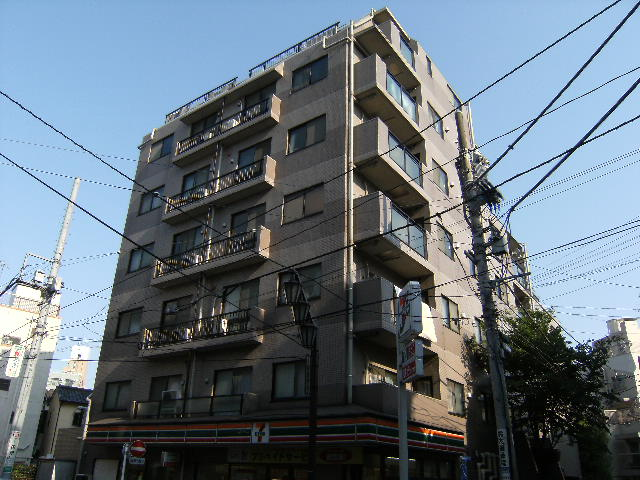 東京都板橋区、中板橋駅徒歩11分の築20年 7階建の賃貸マンション
