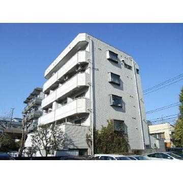 東京都板橋区、中板橋駅徒歩13分の築30年 5階建の賃貸マンション
