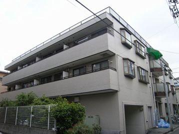 東京都板橋区、中板橋駅徒歩18分の築27年 3階建の賃貸マンション