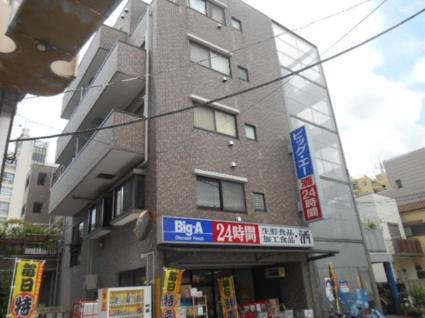 東京都板橋区、ときわ台駅徒歩15分の築20年 5階建の賃貸マンション