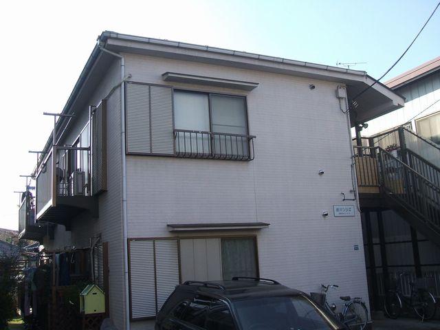 東京都板橋区、上板橋駅徒歩7分の築24年 2階建の賃貸アパート