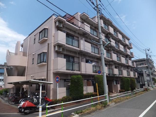 東京都板橋区、成増駅徒歩8分の築28年 5階建の賃貸マンション