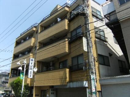 東京都板橋区、ときわ台駅徒歩16分の築30年 4階建の賃貸マンション