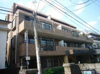 東京都板橋区、上板橋駅徒歩11分の築28年 4階建の賃貸マンション
